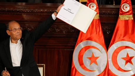 مرزوقي دستور 2014