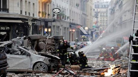 انفجار باريس