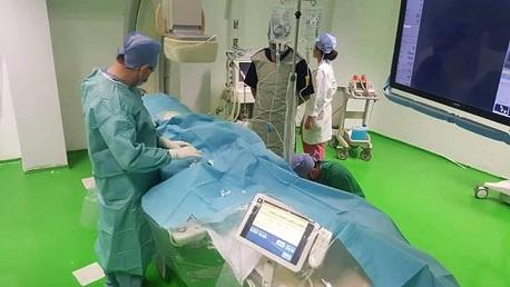 إنجاز أول عملية قسطرة في المستشفى الجهوي بقاب