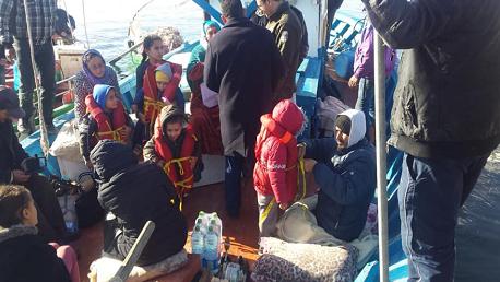 اعتزام عدد من بحارة الصيد الساحلي بالشابة