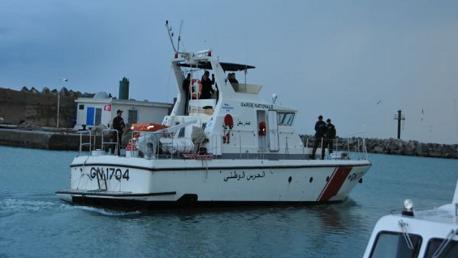 سلقطة- المهديّة/ القبض على منظم عملية اجتياز الحدود البحرية خلسة وضبط مركب صيد