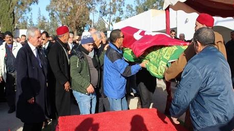 جنازة مصطفى الفيلالي