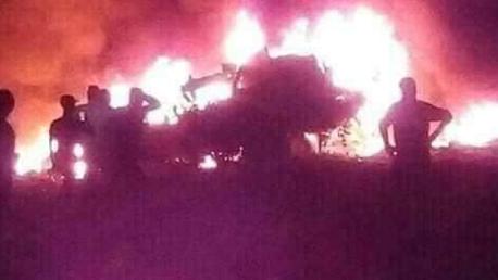 وفاة ضابطين  في سقوط طائرة جزائرية