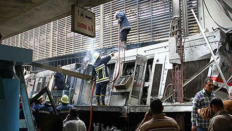 النيابة العامة المصرية تكشف ملابسات حادث القطار بمصر