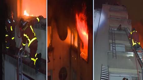 باريس حريق