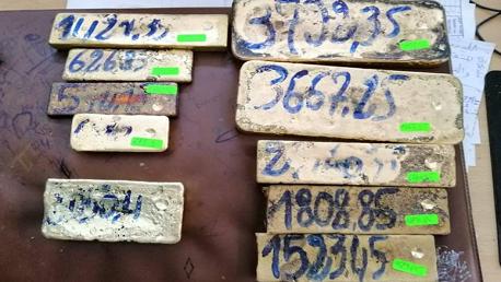 الحرس الديواني ببنقردان يحبط عملية تهريب لعشرة سباك ذهب بقيمة تناهز 1.8 مليون دينار.