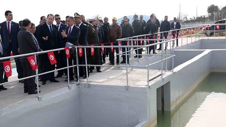 بمركب غدير القلة: تدشين مشروعين بكلفة جملية تناهز 30 مليون دينار