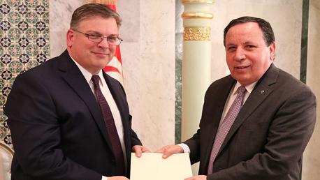 سفير أمريكا بتونس دونالد بلوم Donald Blome
