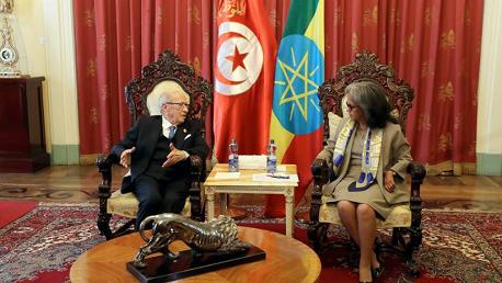 رئيس الجمهورية يُؤكد أهمية فتح ممثلية دبلوماسية إثيوبية بتونس
