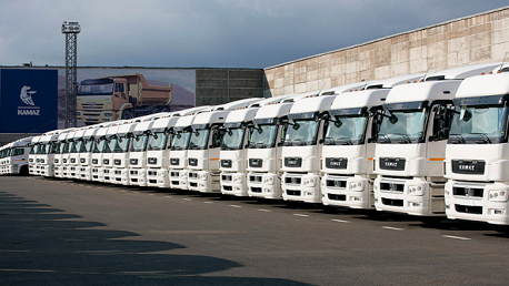 الشاحنات الروسية Kamaz