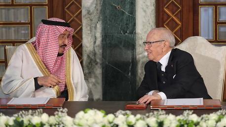 توقيع اتفاقيتين بين تونس والسعودية