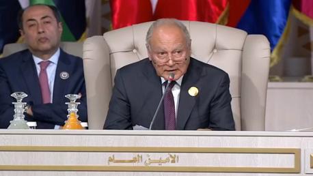 """الأمين العام لجامعة الدول العربية """"أحمد أبو الغيظ"""""""