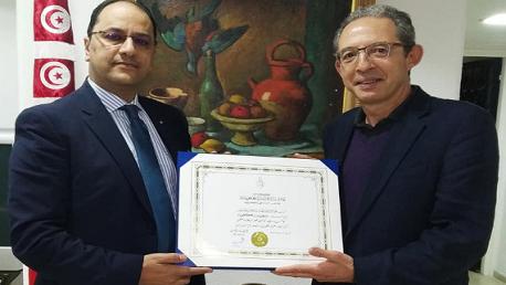 منح سفيان كمون جائزة رئيس الجمهورية للبحث العلمي والتكنولوجيا