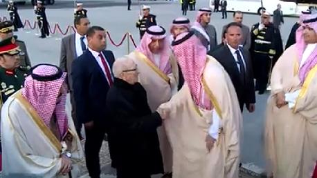 قائمة اسمية للوفد الرسمي المرافق للملك السعودي في زيارته لتونس