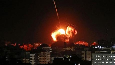 غارات صهيونية على غزة: قصف مواقع من بينها مقرّ إسماعيل هنيّة