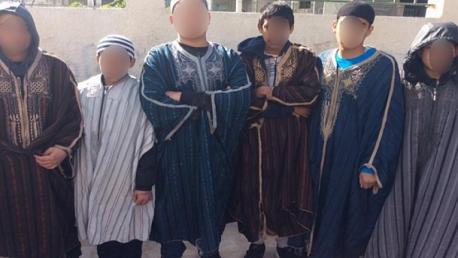 أطفال مدرسة الرقاب