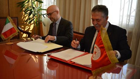 التوقيع على اتفاق تونسي إيطالي لدعم قطاعي الفلاحة والاقتصاد الاجتماعي