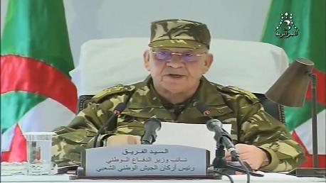 الفريق أحمد قايد صالح نائب وزير الدفاع الوطني، رئيس أركان الجيش الوطني الشعبي