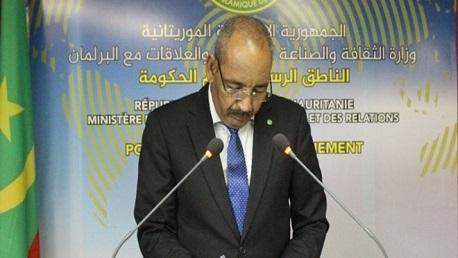 وزير الداخلية بموريتانيا أحمد ولد عبد الله