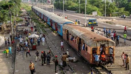 مقتل 24 شخصا بحادث قطار في الكونغو