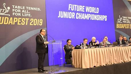 الجامعة التونسية لكرة الطاولة تفوز بتنظيم بطولة العالم للناشئين سنة 2021