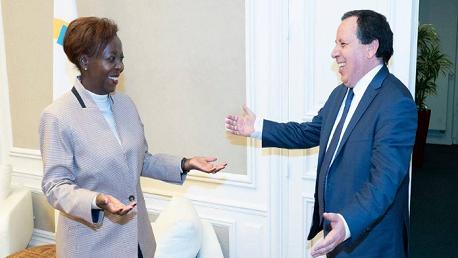 الأمينة العامّة للمنظمة الدولية للفرنكوفونية تؤدي زيارة عمل إلى تونس من 14 إلى 16 أفريل