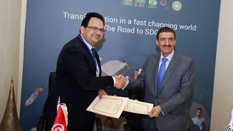 400 مليون دينار من البنك الإسلامي للتنمية لمشروع نقل الغاز الطبيعي