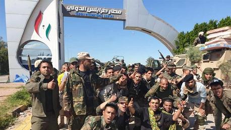 الجيش الليبي يسيطر على مطار طرابلس بالكامل