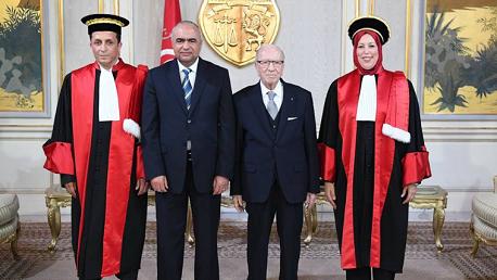 العضوان الجديدان بالمجلس الأعلى للقضاء يُؤديان اليمين الدستورية