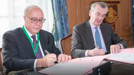 توقيع إتفاقية تعاون بين البنك المركزي التونسي والبنك الفرنسي