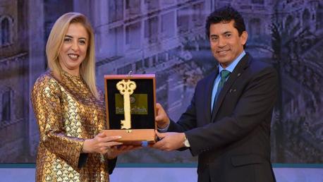 تونس تتسلم شارة عاصمة الشباب العربي 2019