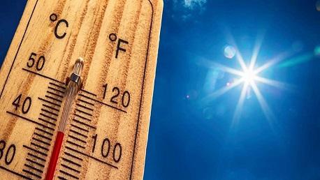 ارتفاع حرارة