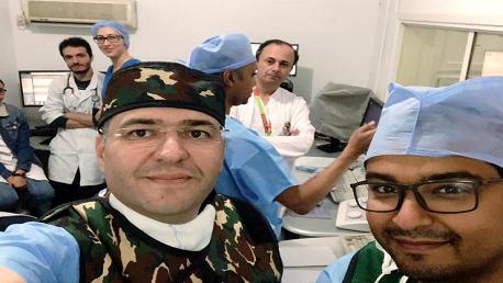 نجاح عملية زراعة الشريان الأبهر في المستشفى العسكري