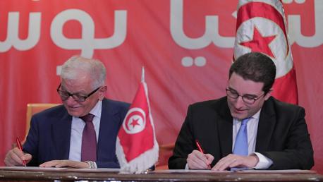 الامضاء على اندماج حزب المبادرة الدستورية الديمقراطية في حركة تحيا تونس