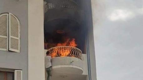 وفاة توأم حرقا داخل منزلهم بسوسة
