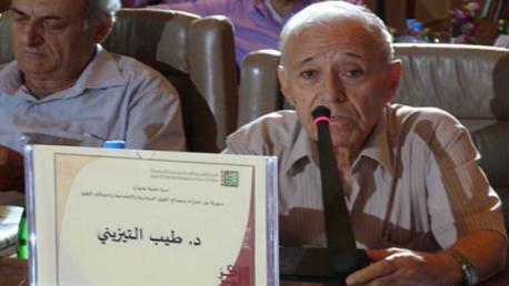 رحيل المفكر السوري طيب تيزيني في حمص