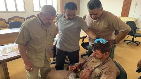 إسقاط طائرة حربية تابعة لحكومة الوفاق والقبض على قائدها