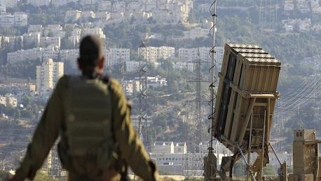 القبة الحديدية تل أبيب