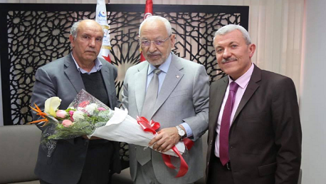 محمد جمعة العوني مستشارا لدى راشد الغنوشي