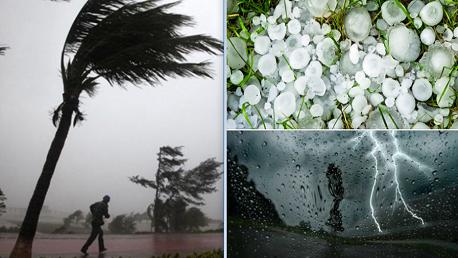 تقلبات جوية بعد الظهر: أمطار بكميات هامة وبرد ورياح تتطلب اليقظة