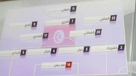 التشكيلة الرسمية للمنتخب في مباراة اليوم أمام مالي