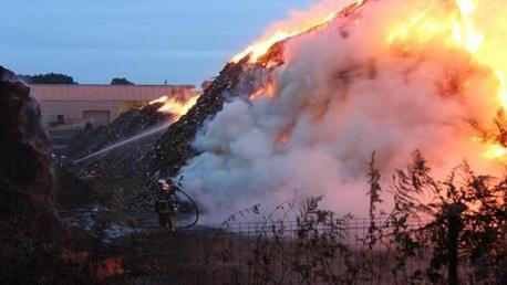 حريق برج شاكير