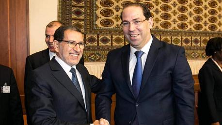 الشاهد و رئيس الوزراء المغربي سعد الدين العثماني