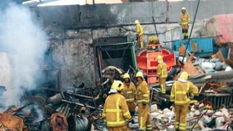 تدمير مخزن لمؤسسة النفط في قصف جوي