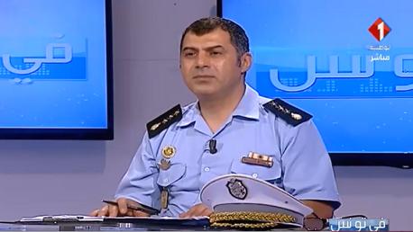 """""""غازي العربي"""" رئيس الإدارة الفرعية للعمليات و المتابعة بالحماية المدنية"""