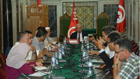 رئيس مجلس نواب الشعب يشرف على اجتماع المكتب ورؤساء الكتل
