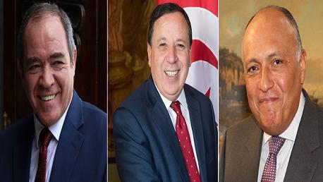 بتونس : اجتماع تشاوري لوزراء خارجية تونس والجزائر ومصر حول ليبيا