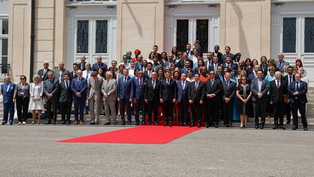 مشاركة وزير الشؤون الخارجية في أشغال قمّة ضفتي المتوسّط (مرسيليا 23 و 24 جوان 2019)