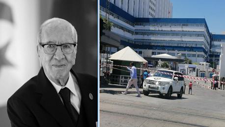 غدًا: نقل جثمان رئيس الجمهورية من المستشفى العسكري إلى منزله