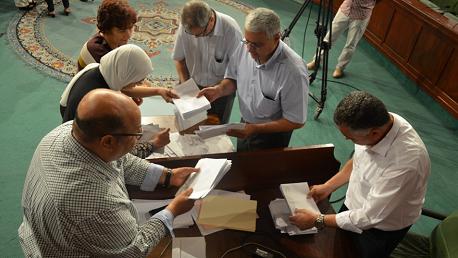 جلسة انتخاب أعضاء المحكمة الدستورية